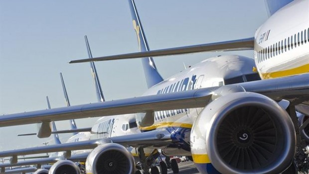 Ryanair profit drops due to overcapacity