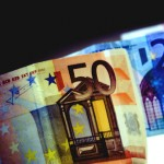 money euros cash