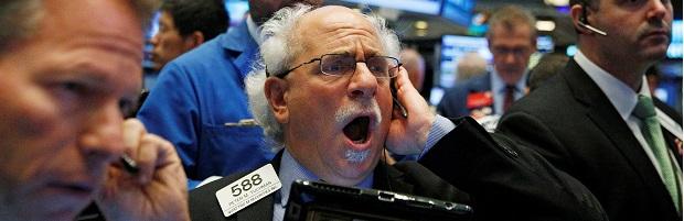 El Dow Jones se desploma 1.000 puntos en Wall Street por la expansión del coronavirus