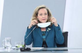 ep archivo   la vicepresidenta de asuntos economicos y transformacion digital nadia calvino
