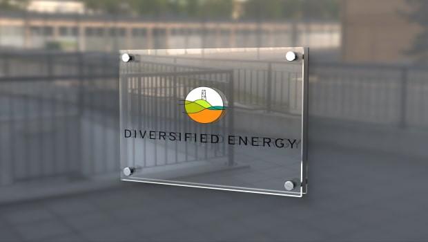 dl diversified energy logo oil gas sign ftse 250 min