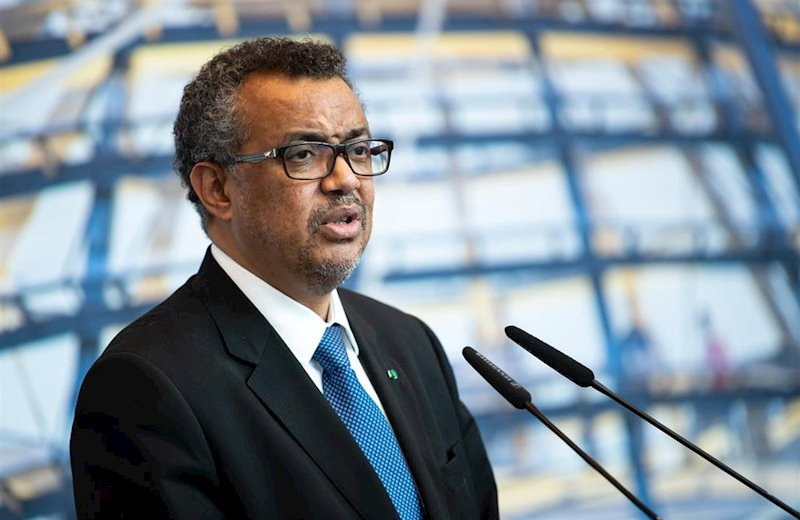 ep tedros adhanom ghebreyesus director general of the world health organization who