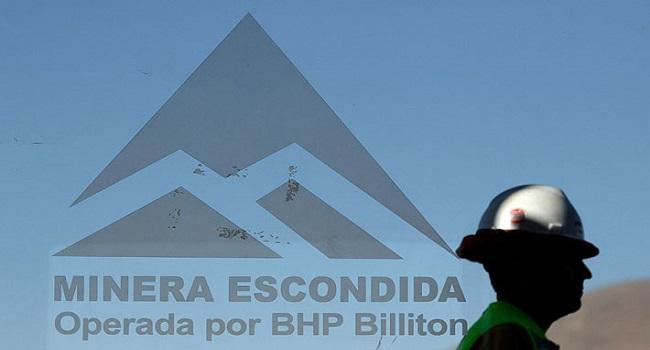 Para BHP Billiton la huelga en Mina Escondida está provocando daños inestimables