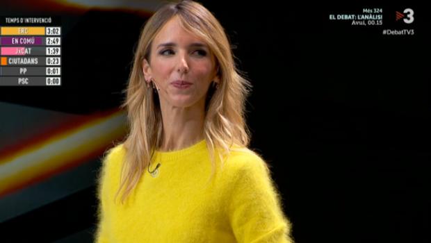 cayetana debate cataluna amarillo