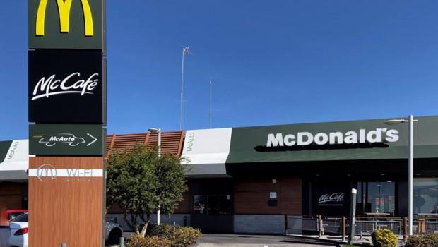 ep archivo   foto del restaurante de comida rapida mcdonalds en el que puede verse el logotipo en el