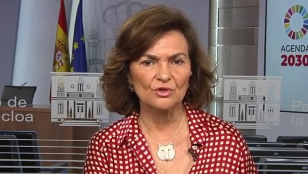ep entrevistatelecincola vicepresidentagobiernofunciones carmen calvo