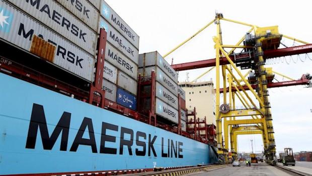 ep la naviera maersk line el mayor operador mundial de barcos contenedores y parte del conglomerado