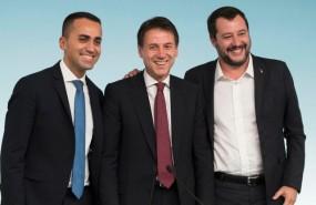 italia maio conte salvini