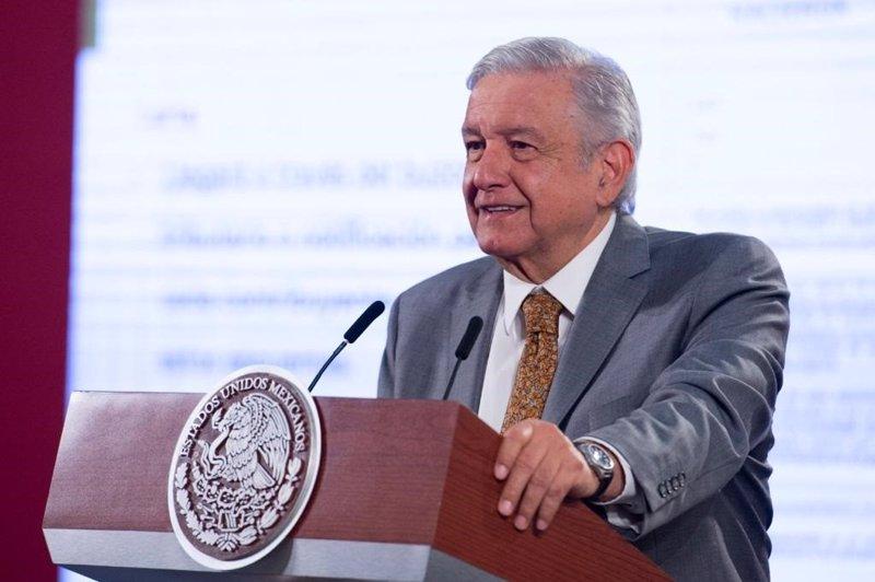 ep el presidente de mexico andres manuel lopez obrador