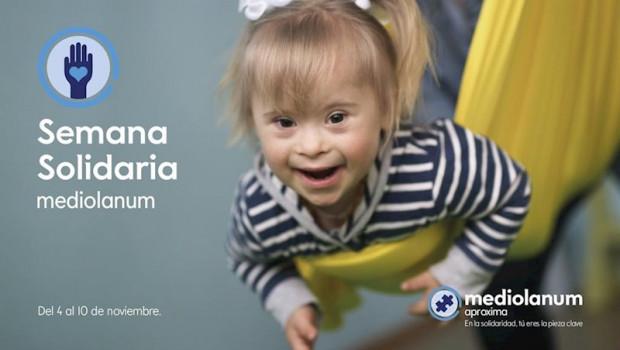 ep cartel de la ii semana solidaria de mediolanum aproxima el proyecto solidario de banco mediolanum