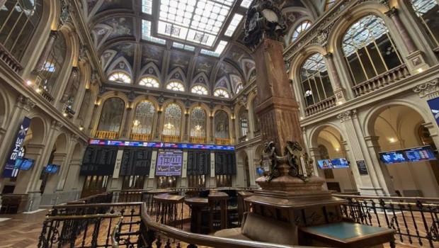 ep vision general del interior del palacio de la bolsa de madrid espana a 22 de septiembre de 2020