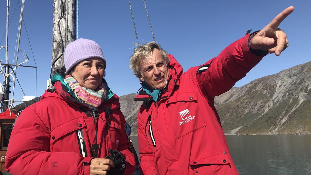 Ana Botín se va con Calleja a Groenlandia y se abre cuenta en Instagram