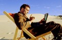 inversor, verano, vacaciones, oficina