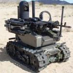 qinetiq defence military gun robot
