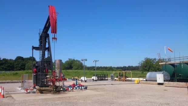oil wressle egdon testing