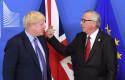 ep 17 october 2019 belgium brussel l-r brexit secretary stephen barclay uk prime minister boris