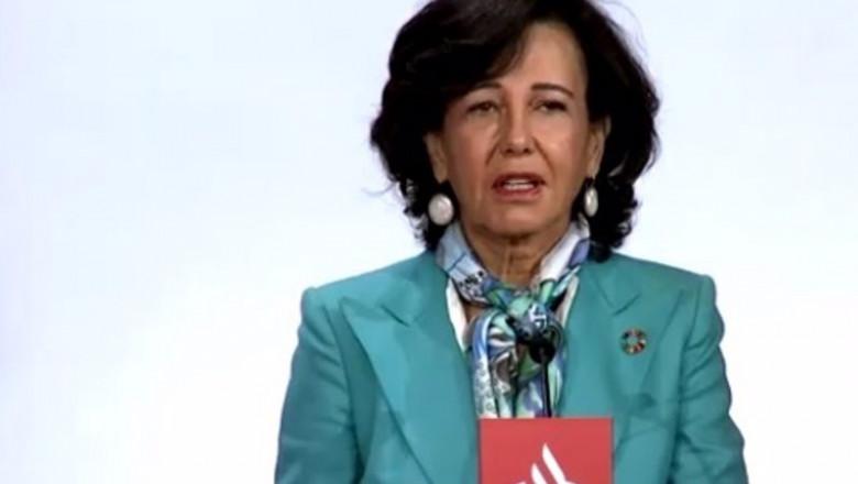 ep la presidenta del santander ana botin en la junta general de accionistas 2020