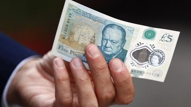 pound sterling fiver inflation spending