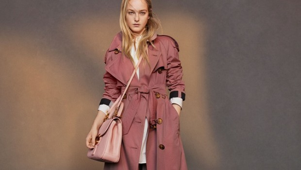Burberry reports 3 percent underlying growth in first quarter