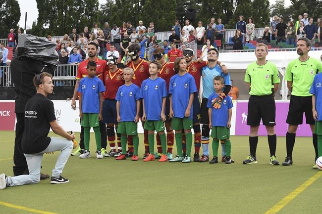 España, subcampeona de Europa de Fútbol para ciegos tras caer en los penaltis ante Rusia