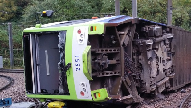 croydon tram sandilands derailment london tramlink tfl firstgroup first group