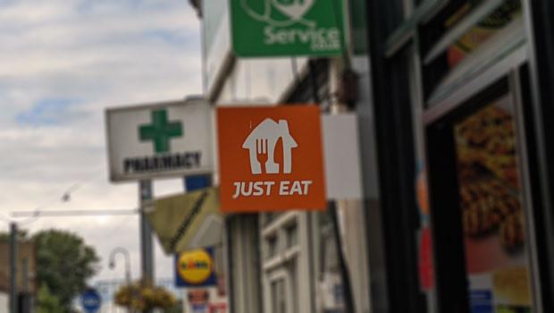 dl just eat takeaway sign delivery takeaways