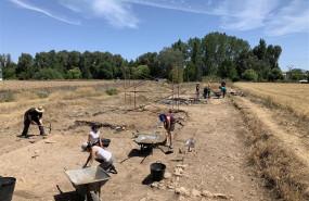 ep arqueologos trabajandola excavacionherrerapisuerga palencia