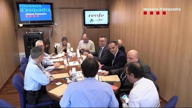 ep reunionlos mossos desquadra adifrenfeincidentesants