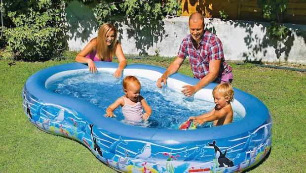 paddling pool family summer garden argos