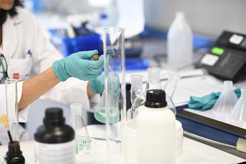 ep una investigadora trabaja en el laboratorio regional de salud publica de la comunidad de madrid