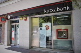 ep archivo - exterior de la sucursal del banco kutxabank en la calle de la oca de madrid en madrid