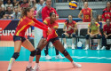 ep la seleccion espanola femenina de voleibol en el campeonato de europa