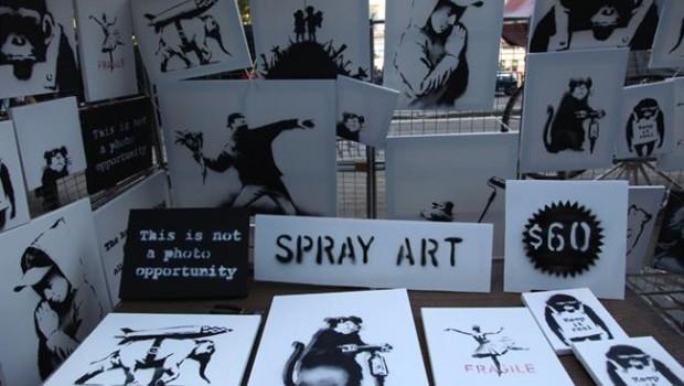 Una galería de Londres vende las 'Grandes Obras' de Bransky