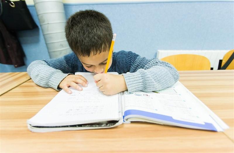 ep alumno libro de texto estudiar clase aula vuelta al cole colegio primaria educacion deberes