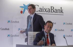 ep el presidente de caixabank jose ignacio goirigolzarri i y el consejero delegado de la entidad