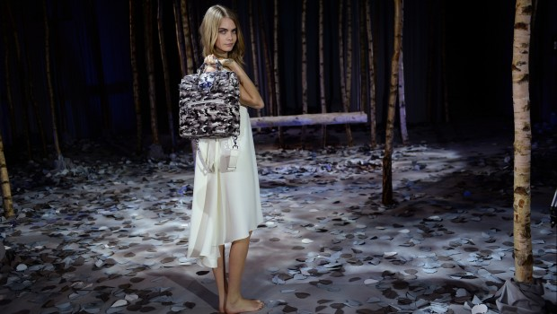 Mulberry, Cara Delevingne, handbags. Photo: Dave Benett