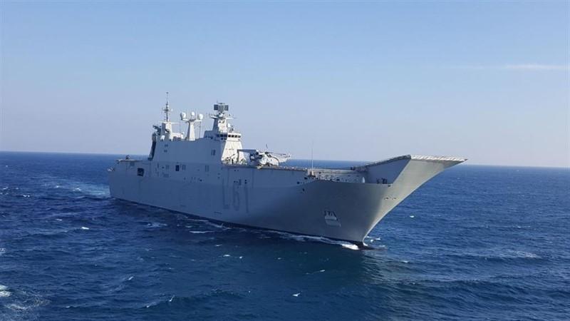 ep portaaviones juan carlos i de la armada espanola