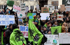ep school strike for the climate in germany