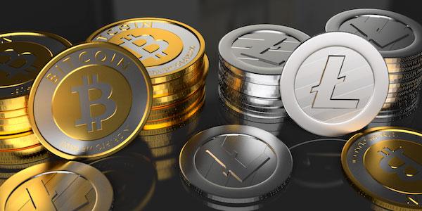 litecoin vs bitcoin coins gold silver