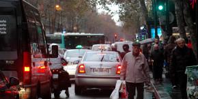 paris trafic embouteillage