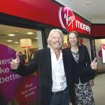 Virgin Money, banks, banking, Sir Richard Branson and Jayne-Anne Gadhia