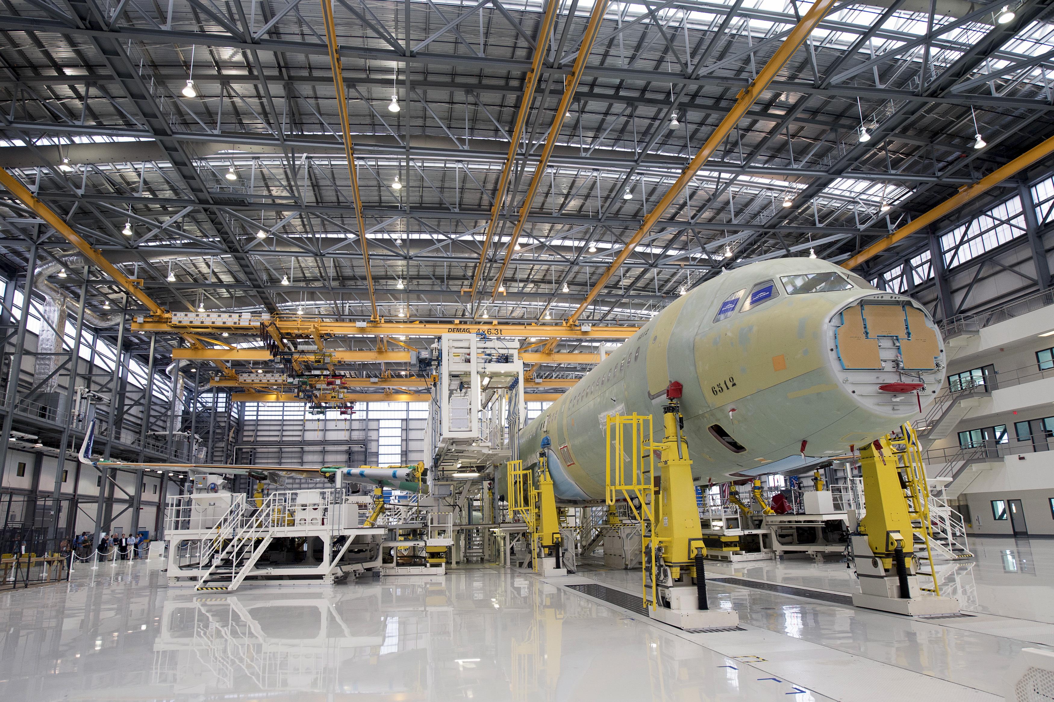 Resultado de imagen para assembly line airbus