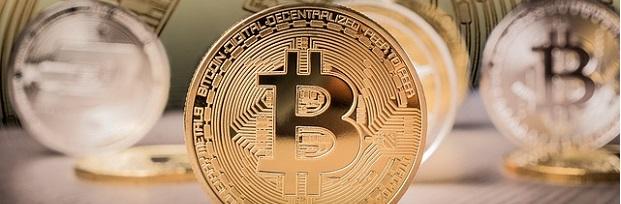 primer plano bitcoin portada