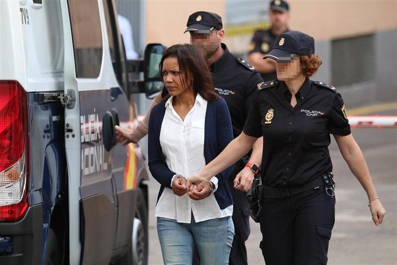 ep ana julia quezada llega a la septima jornada del juicio por la muerte violenta de gabriel cruz