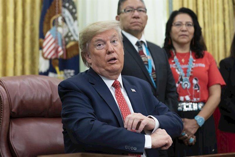 ep el presidente estadounidense donald trump